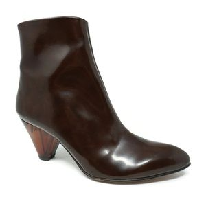 Free People Aspect Booties Patent Leather